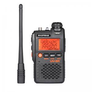 China Handheld Professional Walkie Talkie BAOFENG Radio Transmitter UV 3R Mobile Transceiver on sale