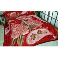 Buy cheap Double Printed Warm 100% Polyester Blanket ISO , 2 Ply Blanket For Family product