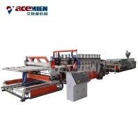 Buy cheap WPC PVC Foam Plate Making Machine Furniture Board Kitchen Cabinet 50 HZ 3 Phase product