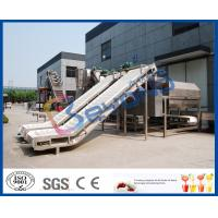 Buy cheap SUS304 SUS316L Fruit Clapboard Elevator Fruit Processing Equipment For Fruit Conveying product