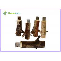 China Novetly 2.0 tree branch Wooden USB Flash Drive promotional 4GB 8GB 16GB 32GB on sale