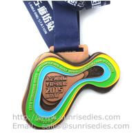 Buy cheap Metal sport medal factory China, enamel metal medallion manufacturer directly product