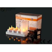 Buy cheap 4set / 6set / 8set / 12set Rechargeable Tea Lights With Remote Control product