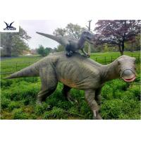 Buy cheap Dinosaur Replicas Life Size , Dinosaur Garden Sculpture For Forest Playground Decoration product