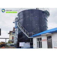 Buy cheap Air Tightness Stainless Steel Bolted Tanks For Sewage Treatment Plant product