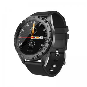 """Buy cheap Alloy Case Silicone Strap 1.22"""" Intelligent Health Bracelet product"""