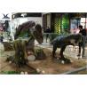 Buy cheap Eyes Blink Giant Life Size Dinosaur Theme ParkSimulation Roar / Infrared Ray Sensor product