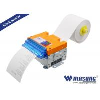Buy cheap POS Kiosk Thermal Printer Module Full / Partial Cutting Method For Parking Machine product