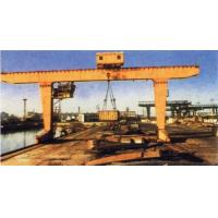 Quality MG Double Girder Gantry Electric Overhead Crane With Hook , 25T Rated Loading Capacity for sale