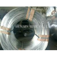 China Professional Hot Dipped Galvanized Wire , Galvanized Tie Wire For Chain Link Fence on sale