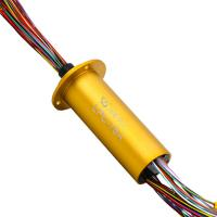 Buy cheap Rotary Electrical Connector Of 76  Circuits  And High Precision product