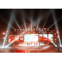 Quality Advertising LED Screen Stage Backdrop , Stage LED Display 640mm x 960mm for sale