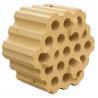 Buy cheap Sintered high alumina 37 holes checker bricks for steel & iron melting plant product