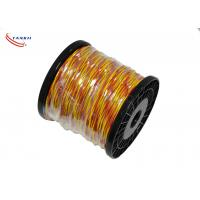 Buy cheap 22 Awg Type K Yellow Red Color Fiberglass Insulation Thermocouple cable product