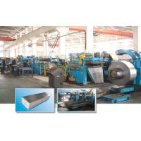 Buy cheap SUS202 / SUS304 Stainless Steel Coil Slitting Machine Fully Automatic product
