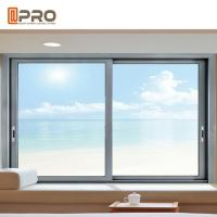 Buy cheap Thermal Break Aluminum Sliding Windows With Double Glass Eco Friendly product