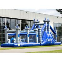 Buy cheap Playground Adult Inflatable Obstacle Course Adrenaline Rush OEM Service product