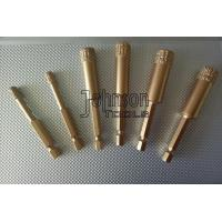 Buy cheap 5mm - 35mm Vacuum Brazed Diamond Core Drill Bits Hex Quick Release Shank product