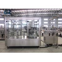 China Stainless Steel Automatic Soda Bottling Machine / Carbonated Water Machine on sale