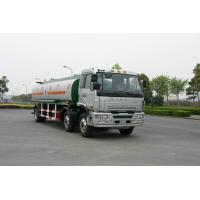 Jinggong Chassis 6x2 For Transport Petroleum , Diesel Oil 220HP Carbon Steel Fuel Delivery Truck 21cbm