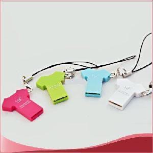 China T-Shirt MicroSD T-Flash TF Memory Card Reader on sale