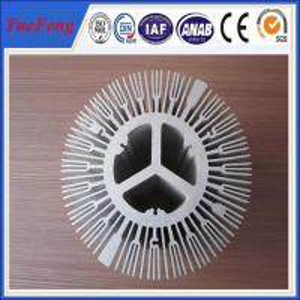 Buy cheap extruded aluminium alloy profile aluminum radiator, trapezoid radiator aluminium profiles product