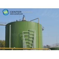 Buy cheap Customized Dark Green Bolted Steel Tanks For Waste Water Storage product