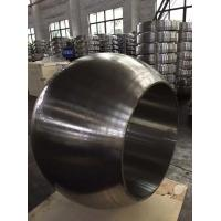 Buy cheap Black Seamless Rolled Ring Forging , Carbon Steel Ring Anti Corrosion product
