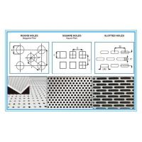 Buy cheap 6061 Rectangular Holes Perforated Aluminum Sheet With 2mm Hole Diameter product