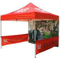 Buy cheap Red 10x10ft Easy Folding garden Pop Up Gazebo Tent Dye Sublimation Printing product