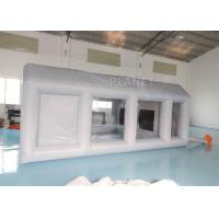 Buy cheap Automotive Workstation Inflatable Spray Booth Double Stitching product