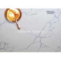Buy cheap 3m Length 2cm / 3cm Thickness Quartz Stone Countertops Smoothness Compact Structure product