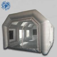 Buy cheap Economical Inflatable Spray Booth 10 Mm Thickness Filter Low Noise product