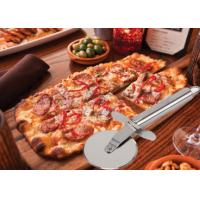 Buy cheap Custom SS304 Stainless Steel Kitchen Tools Pizza Cutter With PP Wooden Handle product