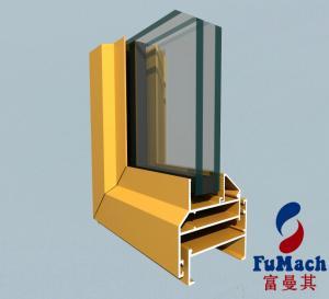 Buy cheap 6000 Series High Sealing Flat Open Aluminum Doors And Windows product