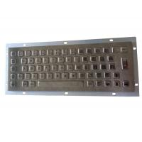 Buy cheap Panel mount stainless steel keyboard for military portable PC working -20 Celsius degree product