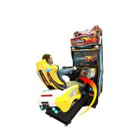 Buy cheap Coin Operated Car Racing Arcade Game Machine, Driving Car Video Games from wholesalers