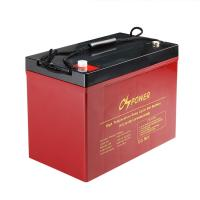 China China Rechargeable Long Life High Temperature Battery GEL Solar Battery 12V 90Ah on sale