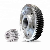 Buy cheap large diameter external spur gear with big module gear, China big gear wheel product