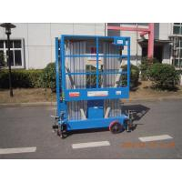 Buy cheap 8m Hydraulic Scissor Working Platform Double Mast For Window Cleaning product