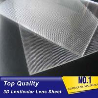 Buy cheap OK3D 20 lpi lenticular ps sheet standard size 1.2*2.4m 3mm thickness for 3d flip effect lenticular printing product