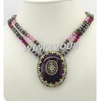 Buy cheap Magnetic hematite necklace product
