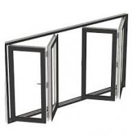 Buy cheap tempered glass folding accordion window manufacturer guangzhou bifold window product