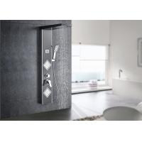 Buy cheap Digital Temperature Display LED Shower Panel ROVATE With 4 Water Diverters product