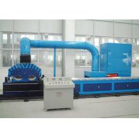 China Square Pipe Automatic Grinding Machine / Mirror Finish Polishing Machine With Dust Collect on sale