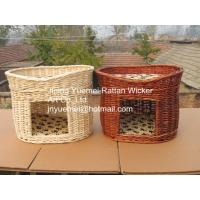 Buy cheap wicker pet basket willow pet basket wicker dog bed wicker dog house kennels Christmas for your pets product