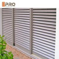 Buy cheap Customized Aluminum Louver Window For Ventilation Adjustable Blinds And Sun Control product
