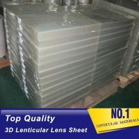 Buy cheap 25lpi PS lenticular board 3d lenticular lens sheet for 3d lenticular printing products product
