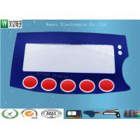 Buy cheap 0.15mm PC Film Push Button Membrane Switch Keypad High Gloss With Silver Contact Point product