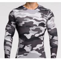 Buy cheap Men Long Sleeve Sports Tight T Shirts Running T-Shirts Fast Drying Muscle Gym clothing product